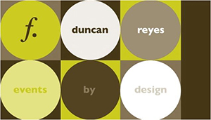f. Duncan Reyes Events by Design logo